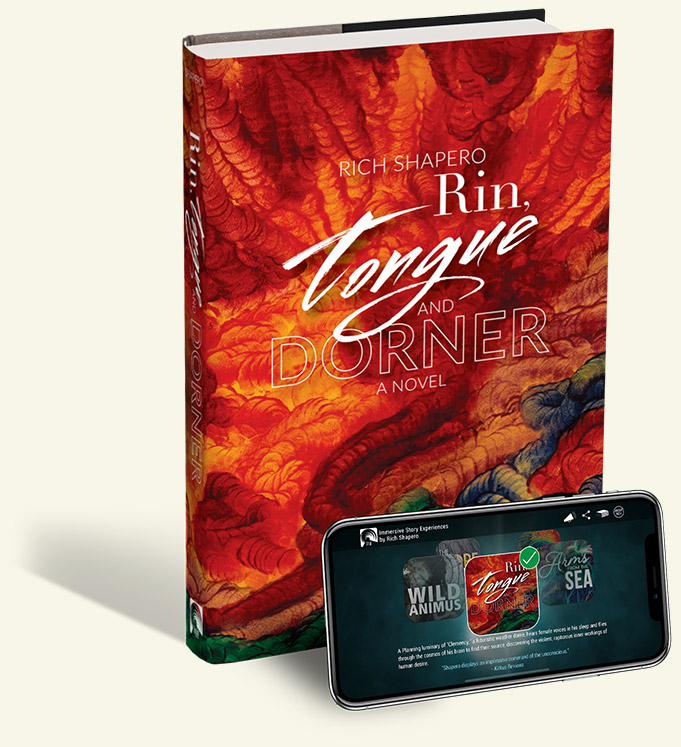 Rin, Tongue and Dorner Novel and App